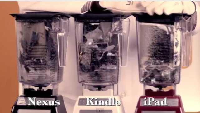 Porównanie wytrzymałości najnowszych tabletów – blenderem :)