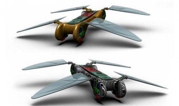 Robot Dragonfly – zdalnie sterowana ważka nadciąga