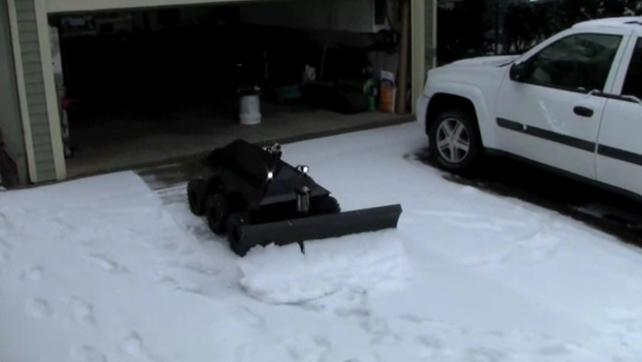 Nie odśnieżaj chodnika zbuduj robota