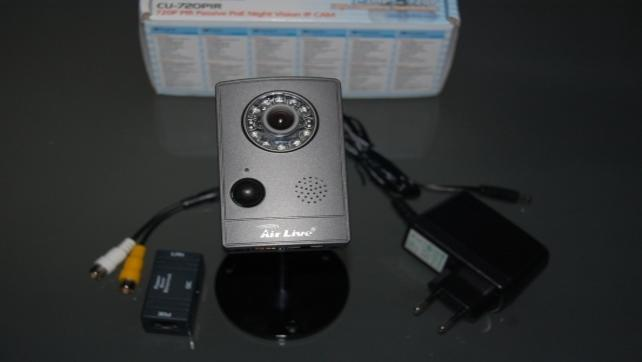 Co sie dzieje w nocy? czyli test kamery IP AirLive CU-720PIR