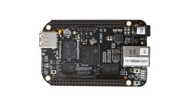 Całkiem mocny mini komputer BeagleBone Black