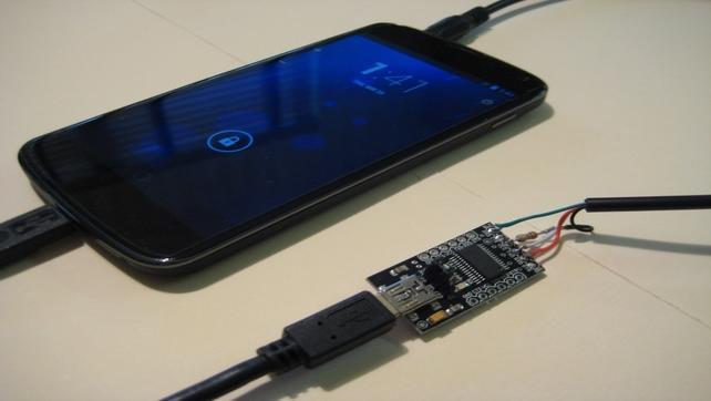 Nexus 4 – ukryty serial port