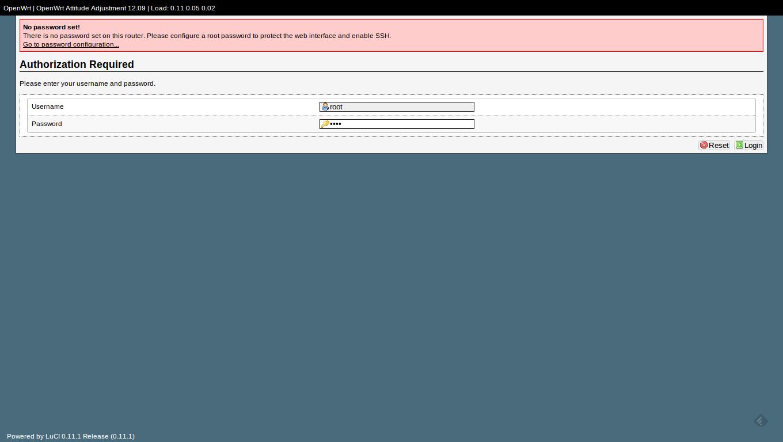 OpenWRT na Raspberry Pi