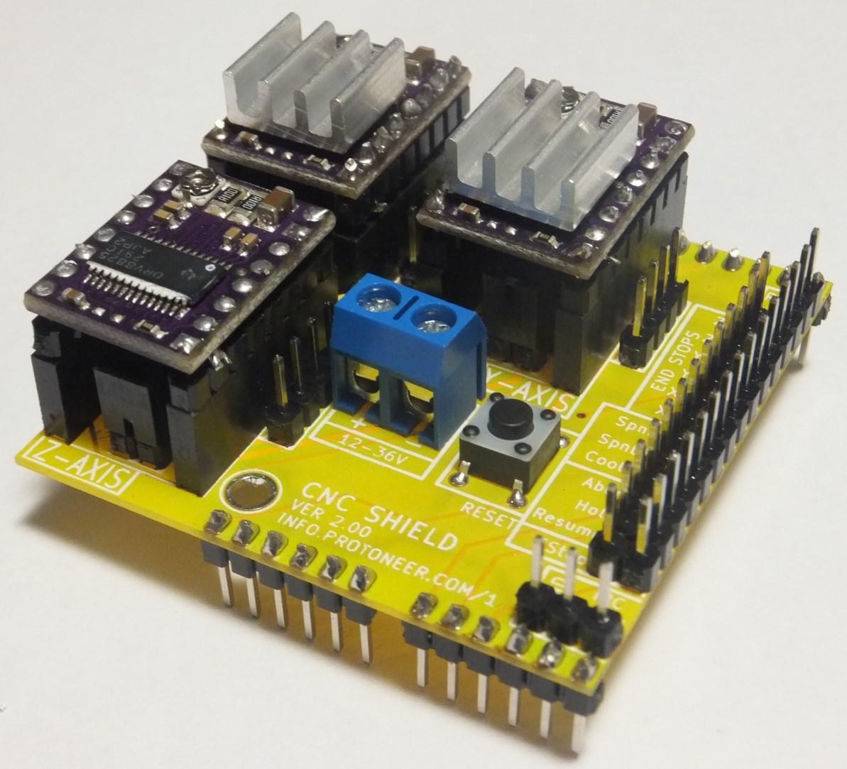 Znowu o CNC czyli DIY Arduino CNC