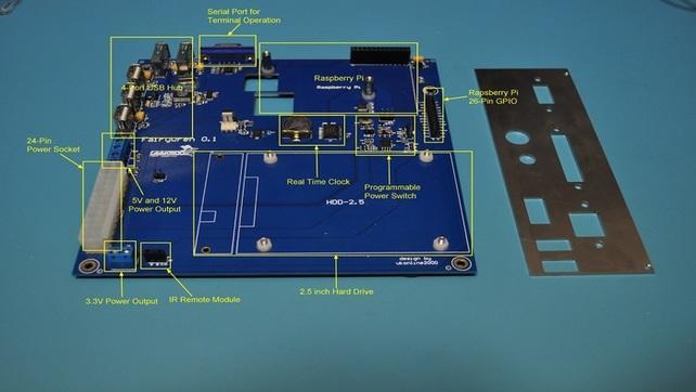 Płyta główna Mini-ITX dla Raspberry Pi