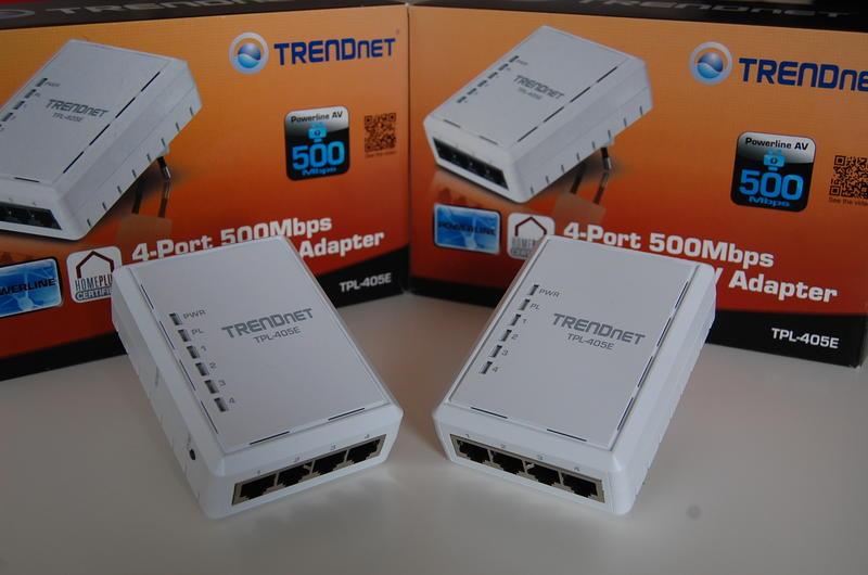 Sieć LAN z gniazdka elektrycznego – test adapterów TRENDnet TPL-405E