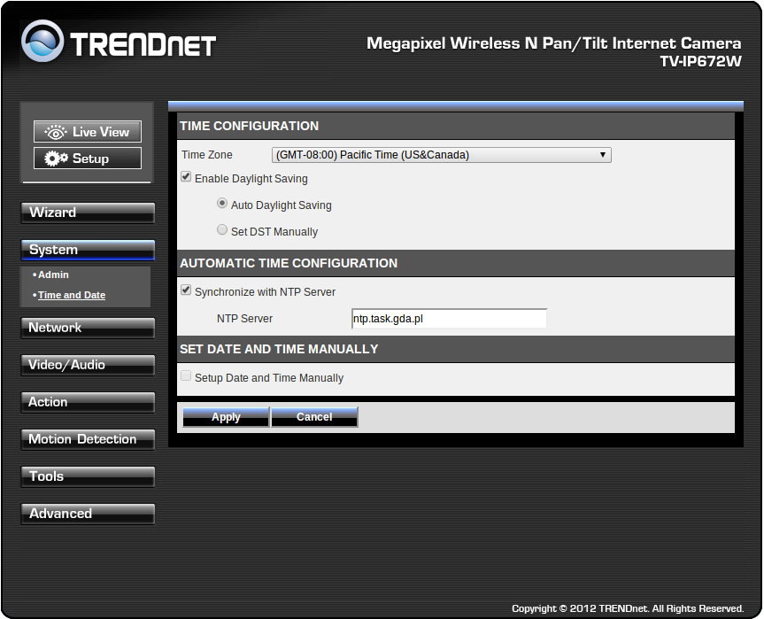 TRENDnet TV-IP672W_konfigracja_1