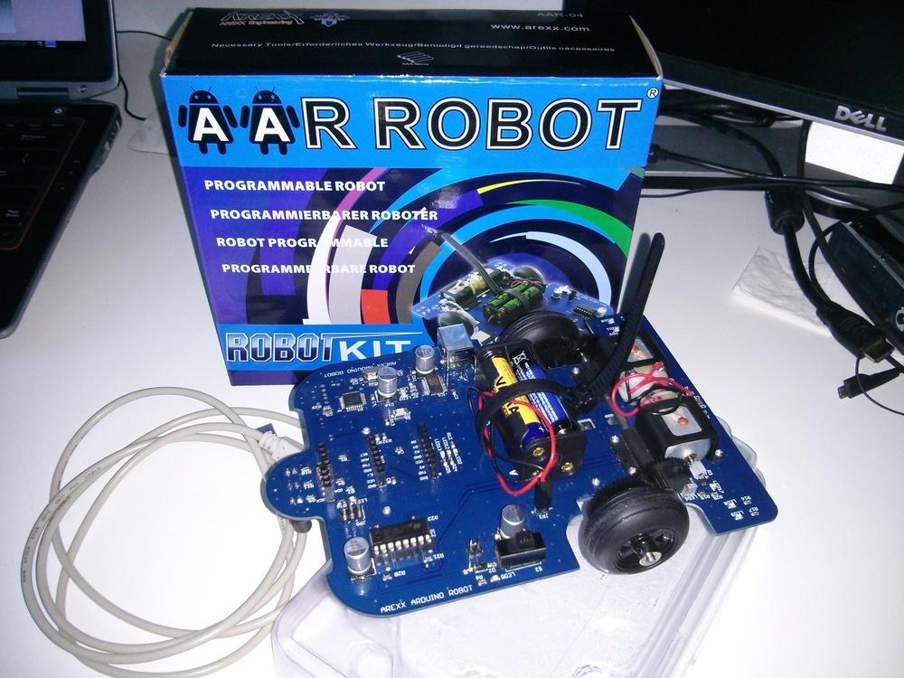 Test Arexx Arduino Robot AAR-04