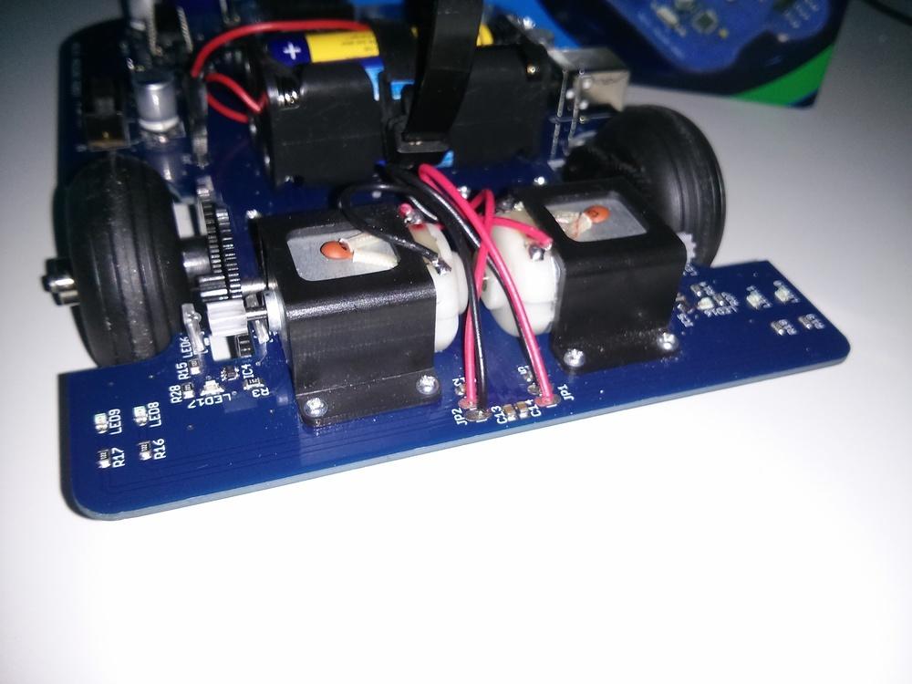 Test arexx arduino robot aar techfreak