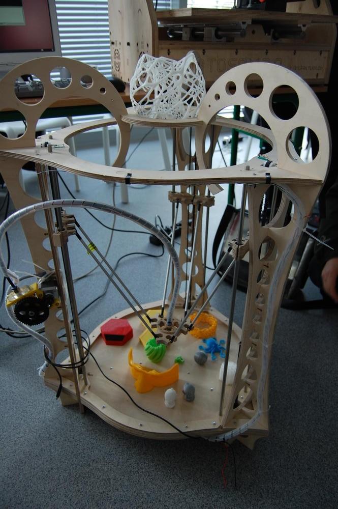 Forum druku 3D i CNC DIY – Gdynia. Parę fotek po