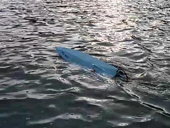 Ślizgi na jeziorze Otomińskim