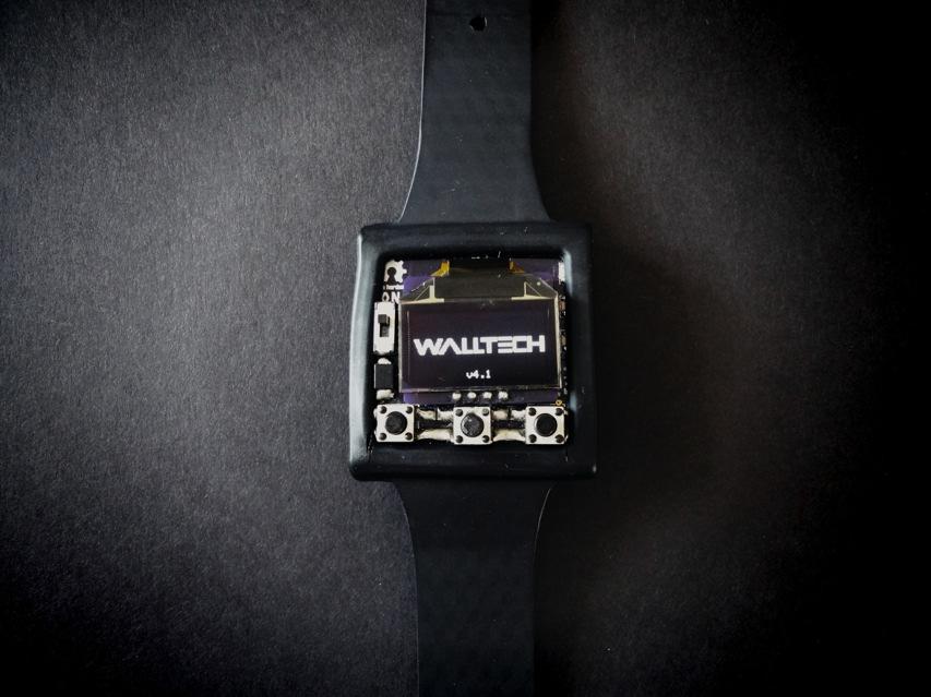 Open source'owy zegarek OLED