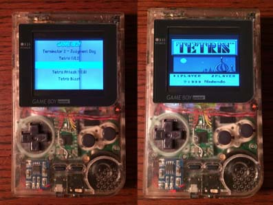 Raspberry Pi Gameboy Pocket mod