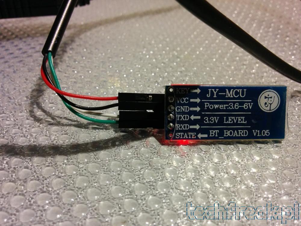 Jak skonfigurować moduł bluetooth HC-06