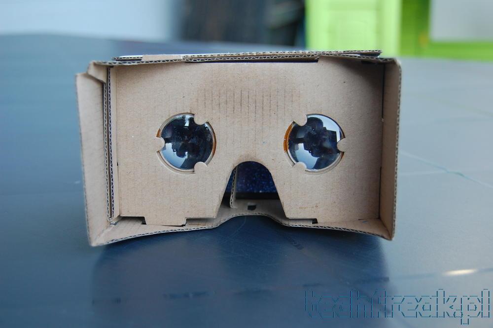 Google Cardboard czyli wirtualna rzeczywistość z kartonu