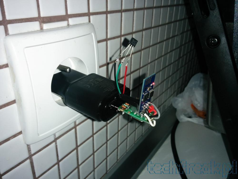 Bezprzewodowe czujniki na ESP8266 + nettemp
