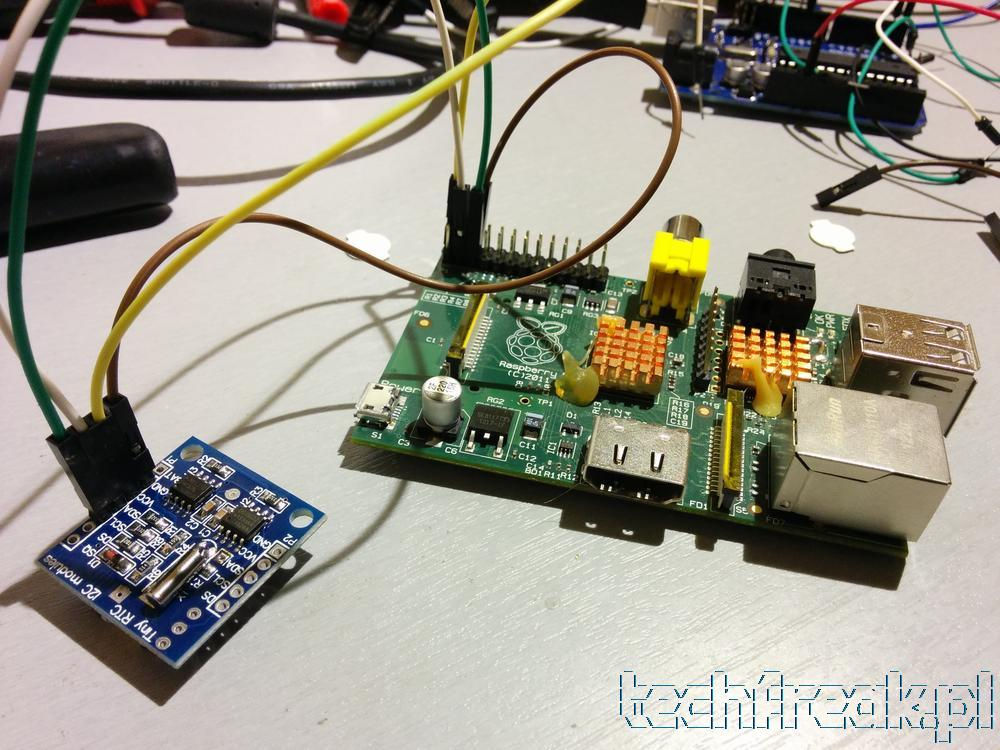 Raspberry Pi RTC DS1307 + nettemp