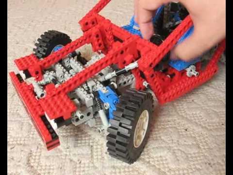 Lego technic 8865 Test car z 1988