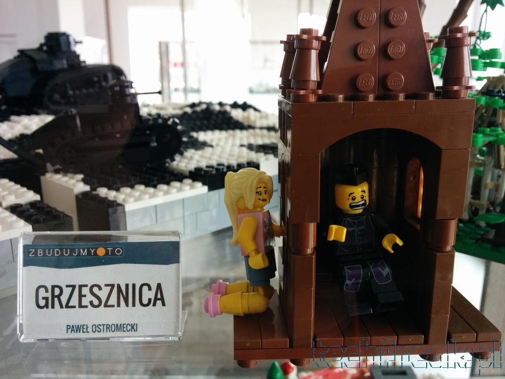 Fotorelacja z wystawy klocków Lego