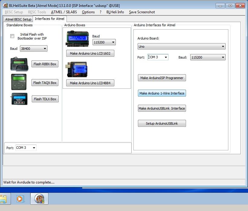 10_techfreak_blheli_13_DYS_SN20A_SN16A_USBASP_1wire_flash