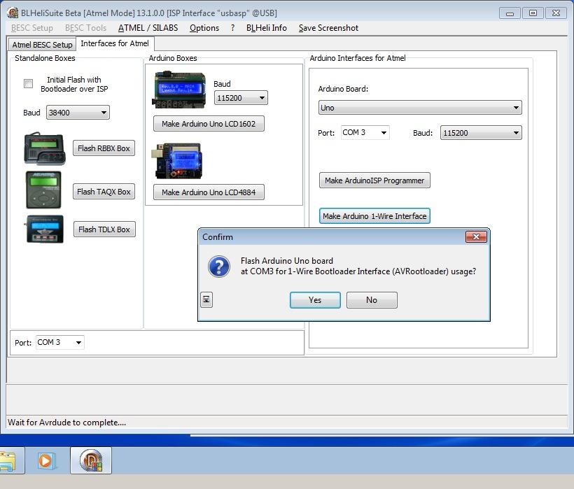 11_techfreak_blheli_13_DYS_SN20A_SN16A_USBASP_1wire_flash
