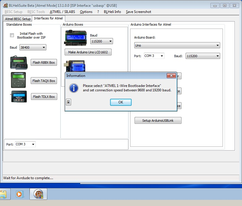 13_techfreak_blheli_13_DYS_SN20A_SN16A_USBASP_1wire_flash
