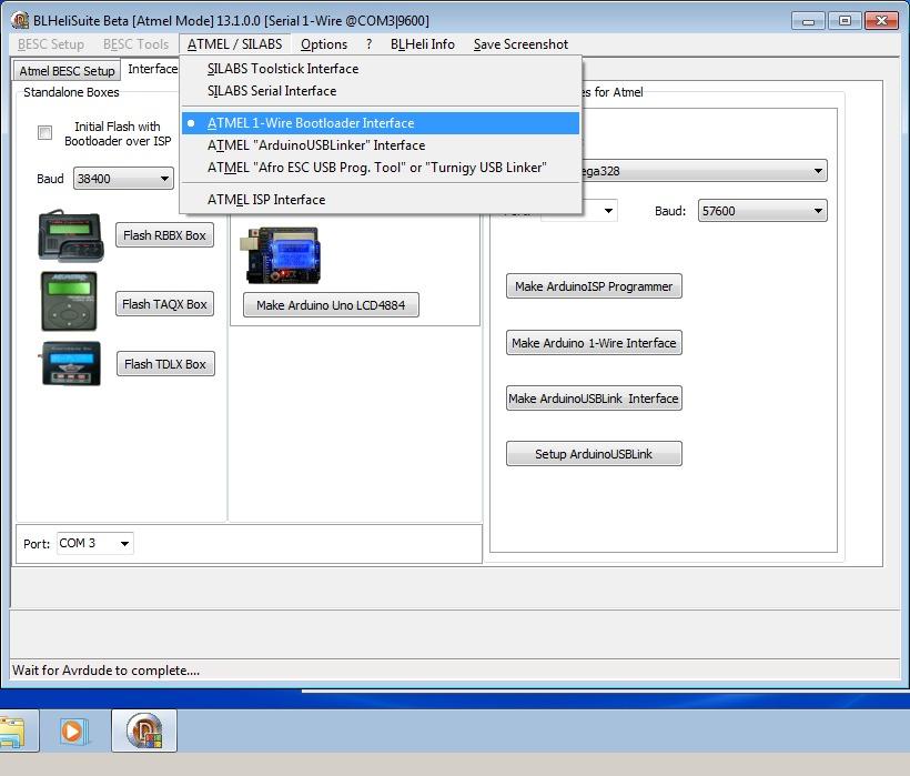 14_techfreak_blheli_13_DYS_SN20A_SN16A_USBASP_1wire_flash