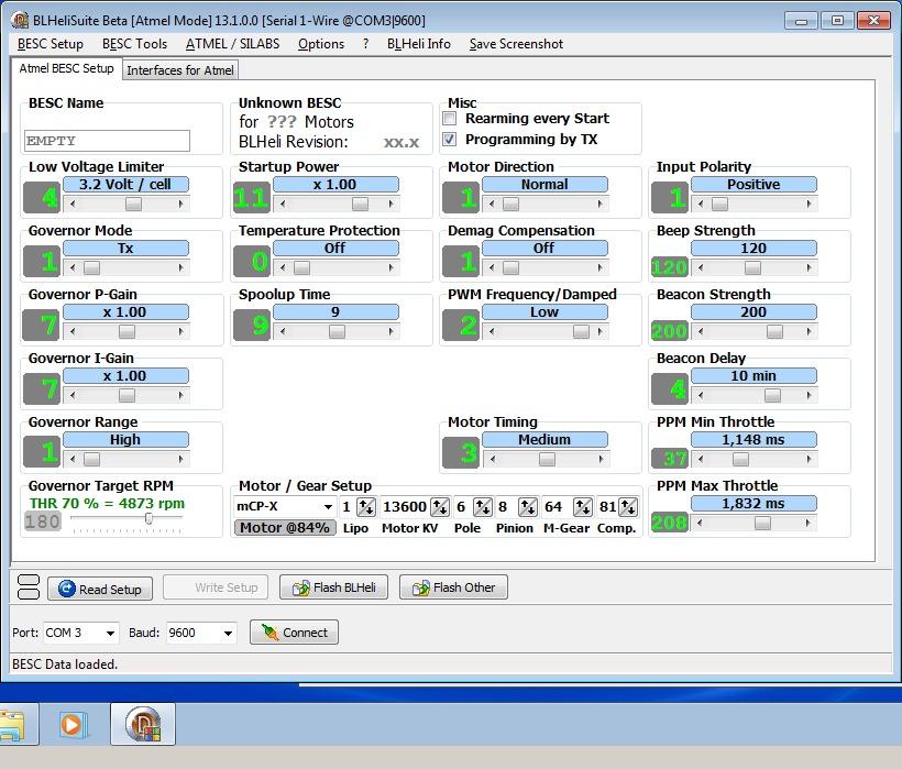 1_techfreak_blheli_13_DYS_SN20A_SN16A_USBASP_1wire_flash