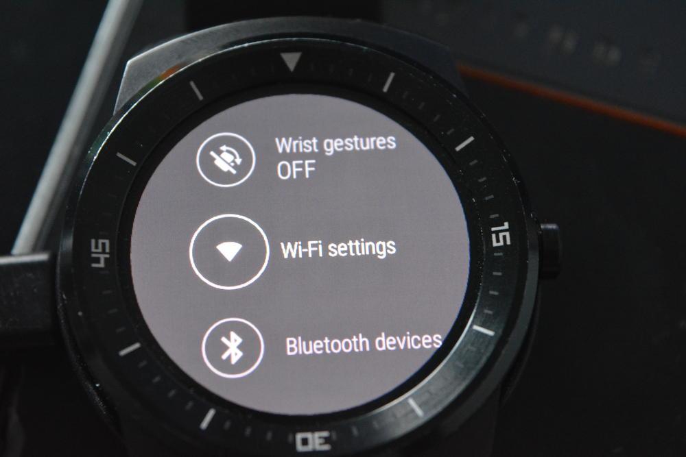Lg G watch R jak uruchomić WiFi