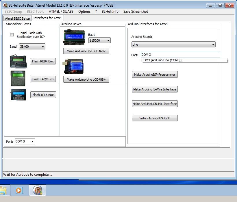 9_techfreak_blheli_13_DYS_SN20A_SN16A_USBASP_1wire_flash