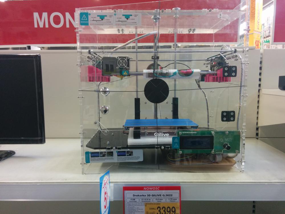 Drukarka 3D w markecie