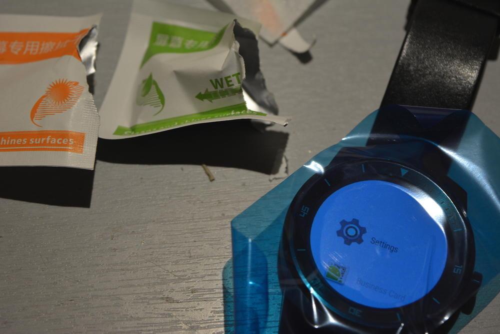 Kupiłem szkło na smart zegarka