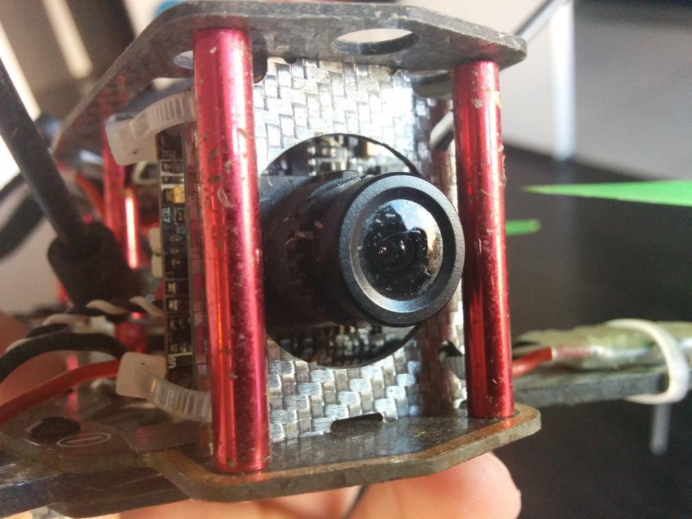 Naprawa kamerki FPV