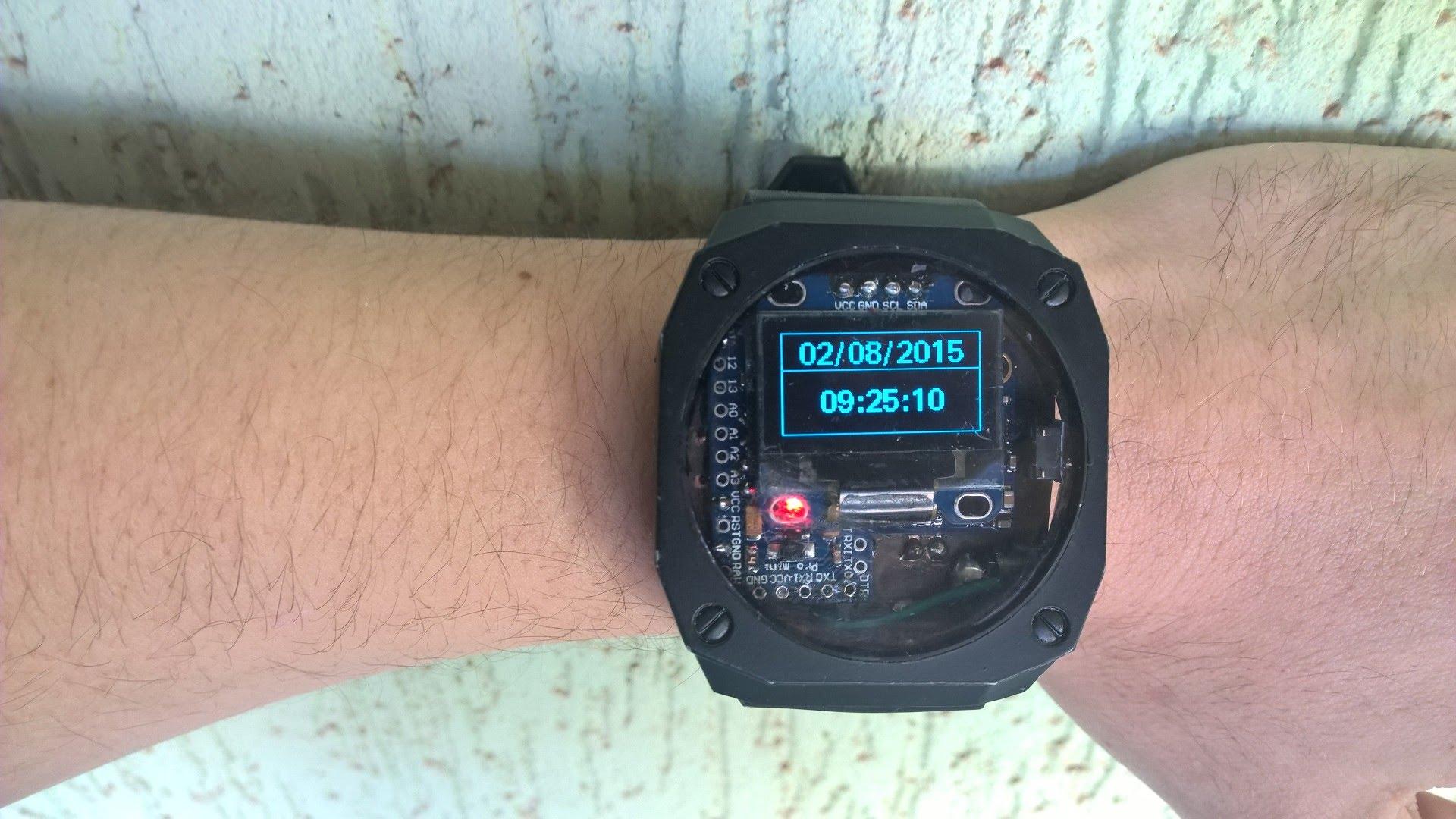 Arduino Watch czyli smartwatch własnej roboty