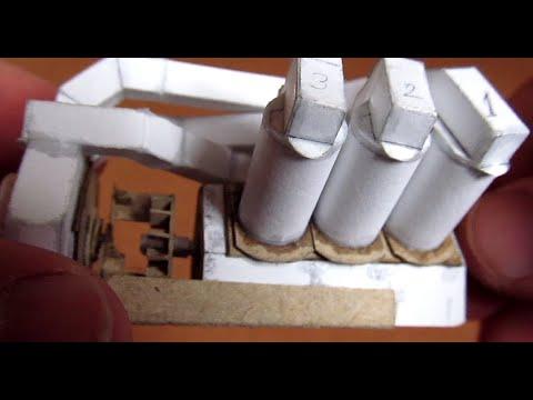 Silnik V6 z papieru