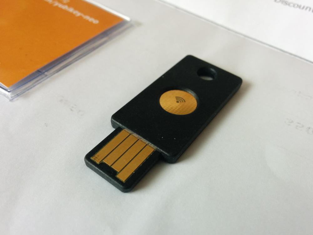 Yubikey klucz do bezpieczeństwa