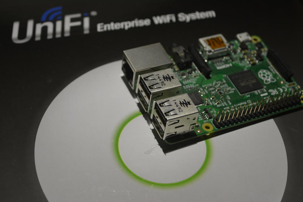 Kontroler Unifi AP UAP na Raspberry Pi