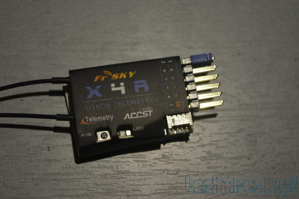 Aktualizacja FrSky X4R do CPPM