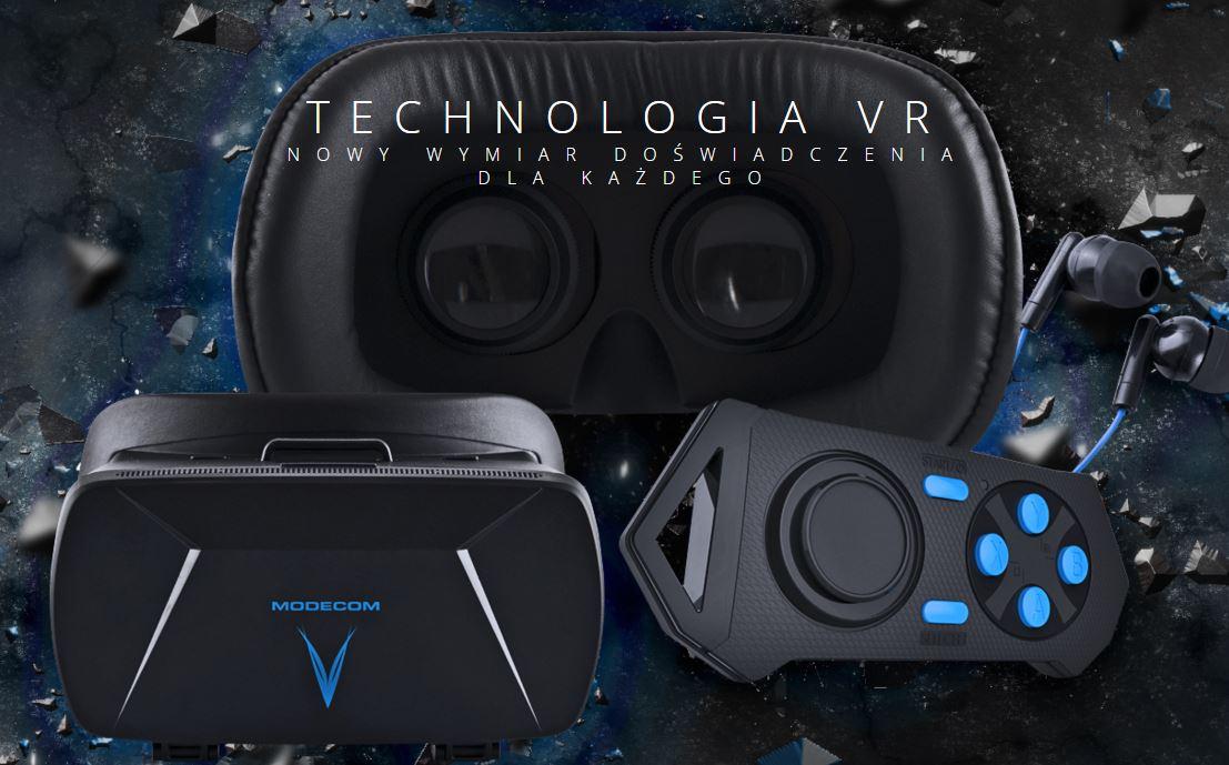 Modecom Volcano Blaze – Virtual Reality w mobilnym wydaniu