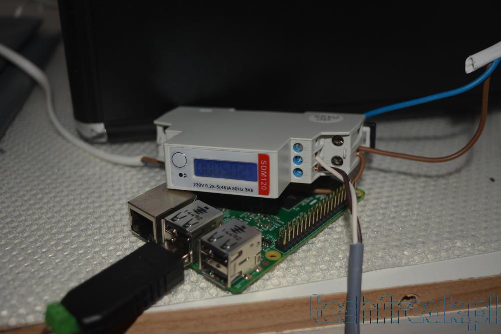 Miernik zużycia energii elektrycznej SDM120