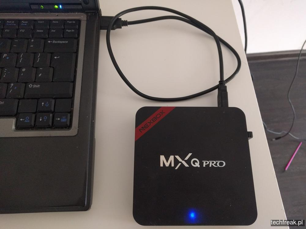 NEXBOX MXQ PRO aktualizacja firmware - techfreak blog